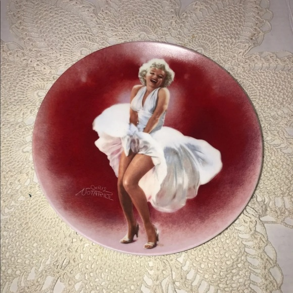 Marilyn Monroe Collectible Plate